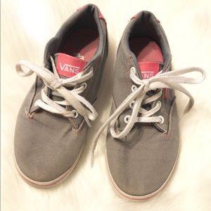 204de471f7 Vans Shoes - Vans Girls Atwood Canvas Casual Shoes